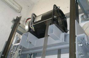 Sử dụng thang máy có động cơ không hộp số: Tiết kiệm điện hiệu quả