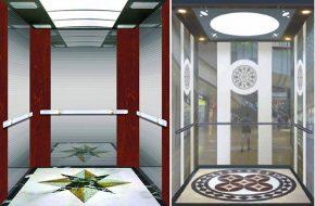Thành phần tạo nên một mẫu cabin thang máy đẹp