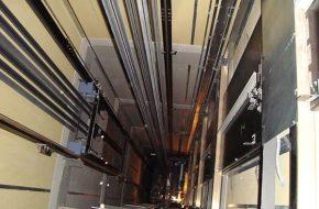 Công trình 12 tầng trở nên trên diện tích 95m2 nên sử dụng kích thước hố thang bao nhiêu là hợp lý