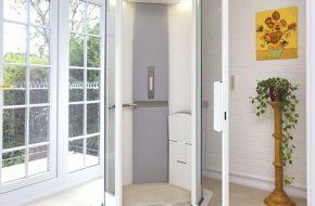 Diện tích nhà tôi nhỏ hình ống có lắp được thang máy hay không, và kích thước hố thang tối thiểu cần đạt được là bao nhiêu?